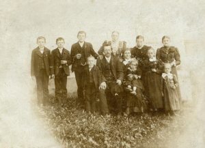 Jakob Pichler mit Familie